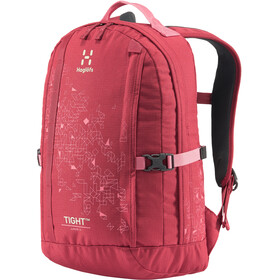 Haglöfs Tight 15 Mochila Jóvenes, brick red/tulip pink